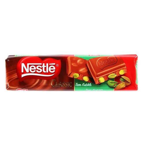 Nestle Klasik Antep Fıstıklı Baton Çikolata 35 Gr.