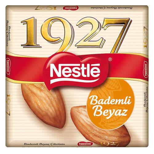 Nestle 1927 Bademli Beyaz Çikolata 65 Gr.