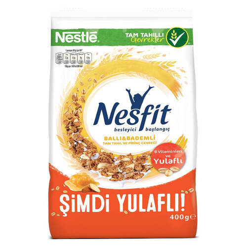 Nestle Nesfit Balli Bagdemli 400 Gr.