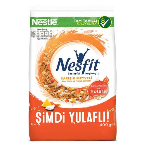 Nestle Nesfit Karisik Meyveli Gevrek 400 Gr.