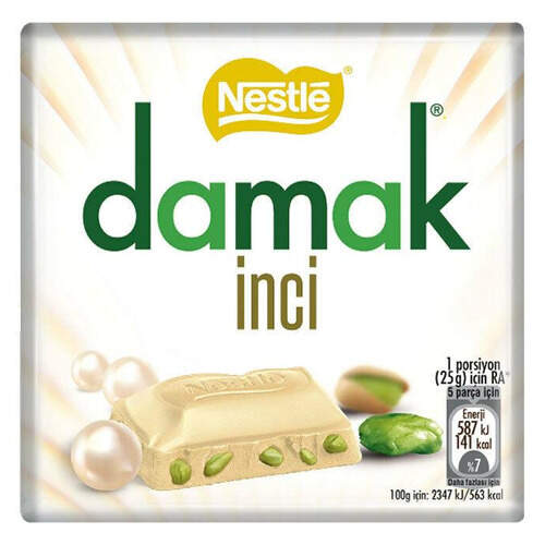 Nestle Damak İnci Beyaz 65 Gr.