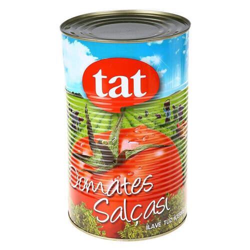 Tat Domates Salçası Teneke 4300 Gr.