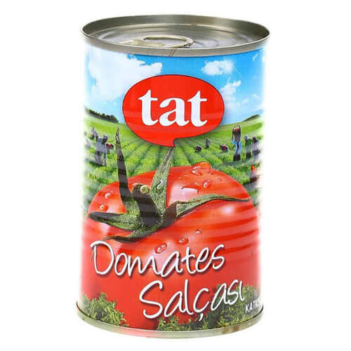 Tat Domates Salçası Teneke 430 Gr.
