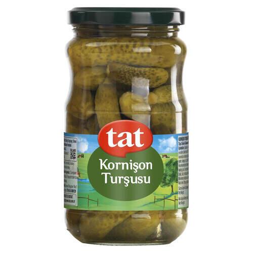 Tat Salatalık Turşusu Cam Kavanoz 1600 Gr.