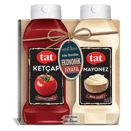 Tat 2'li Ketçap + Mayonez 650 Ml.