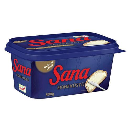Sana Ekmek Üstü Kase Margarin 500 Gr.