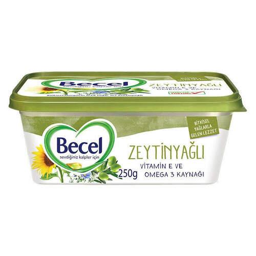 Becel Zeytinyağlı Kase Margarin 250 Gr.