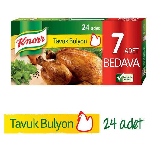 Knorr Bulyon Tavuk Suyu 24'lü Tablet 240 Gr.