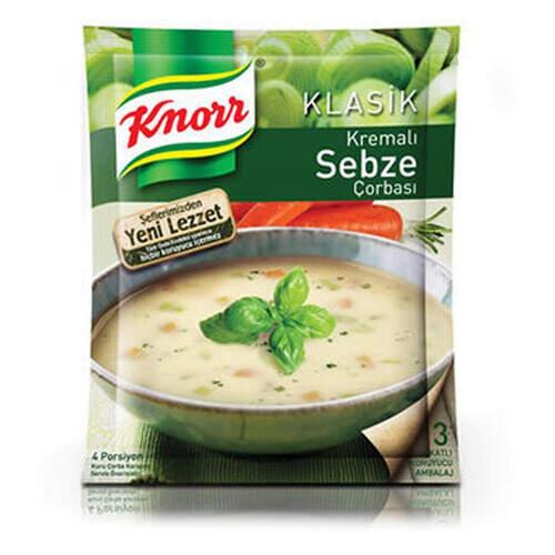 Knorr Klasik Kremalı Sebze Çorbası 65 Gr.