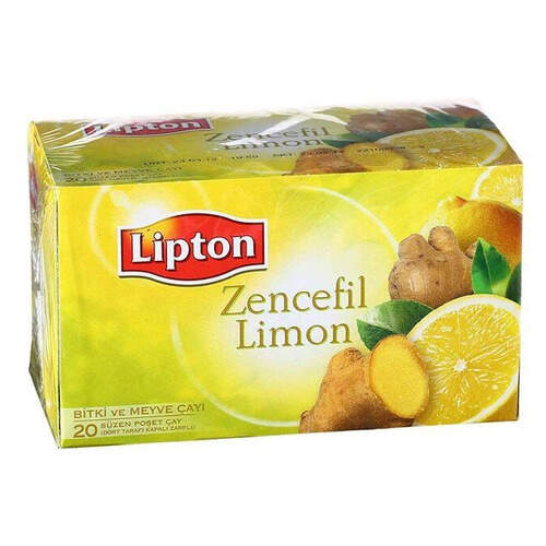 Lipton Bitkisel Zencefil-limon Çayı 40 Gr.