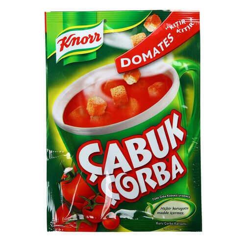 Knorr Çabuk Domates Çorbası