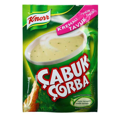 Knorr Çabuk Kremalı Tavuk Çorbası