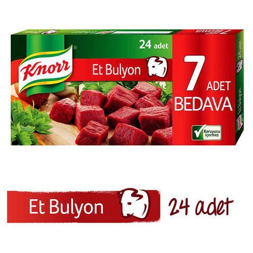 Knorr Bulyon Et Suyu 24'lü Tablet 240 Gr.