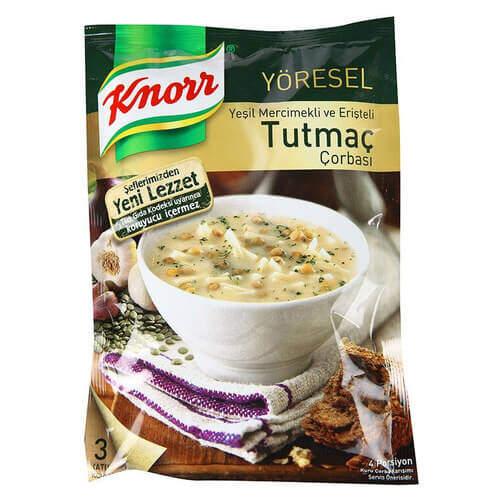 Knorr Çorba Yöresel Tutmaç