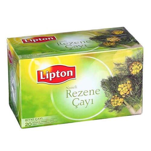 Lipton Naneli Rezene Bitki Poşet Çay 20'li Paket 40 Gr.