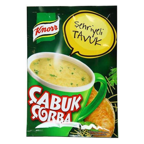 Knorr Çabuk Çorba Şehriyeli Tavuk