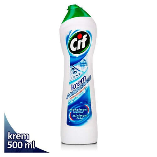 Cif Amonyaklı Krem 500 Ml.