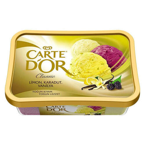 Carte D'or Limon-karadut-vanilya 925 Ml.