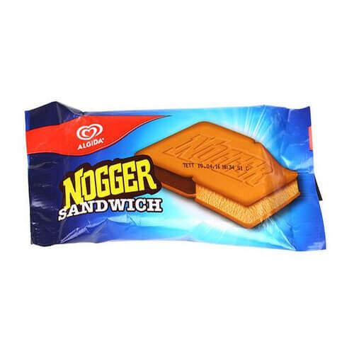 Algida Nogger Karamel Kakao Sandwich 145 Ml.