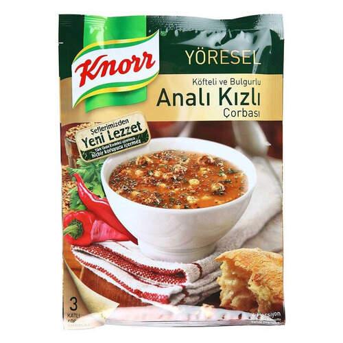 Knorr Çorba Yöresel Analı Kızlı Çorba