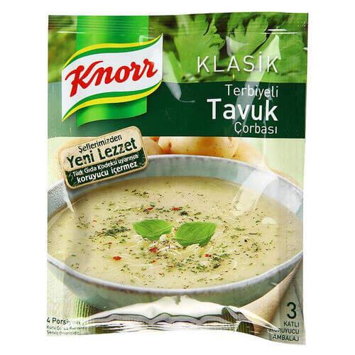 Knorr Çorba Klasik Terbiyeli Tavuk 62 Gr.