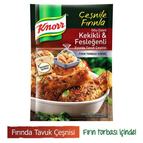 Knorr Fırında Tavuk Çeşnili Kekikli Fesleğen 32 Gr.