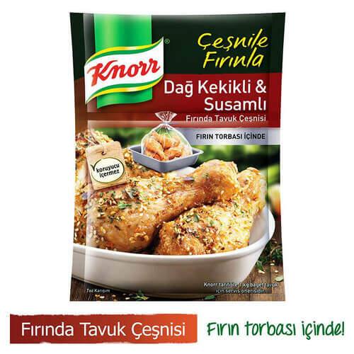 Knorr Fırında Tavuk Çeşni Dağ Kekikli 35 Gr.