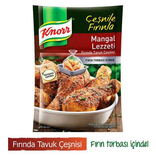 Knorr Fırında Tavuk Çeşnisi Mangal Lezzeti 32 Gr.