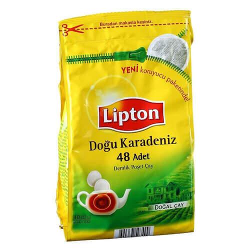 Lipton Doğu Karadeniz Demlik Poşet Çay 153 Gr.