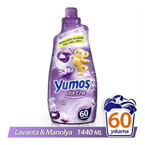 Yumoş Extra Konsantre Lavanta Manolya 1440 Ml.