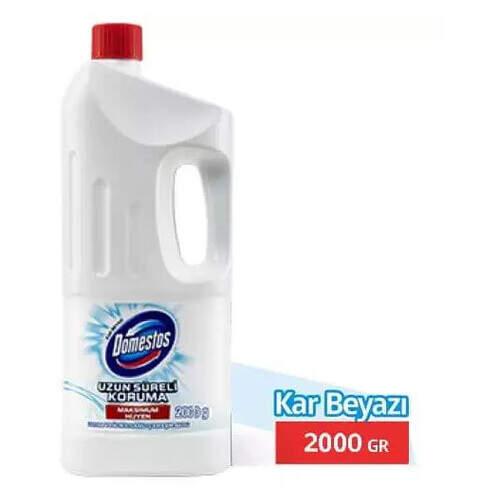 Domestos Kar Beyazı Ultra Yoğun Çamaşır Suyu 2000 Ml.