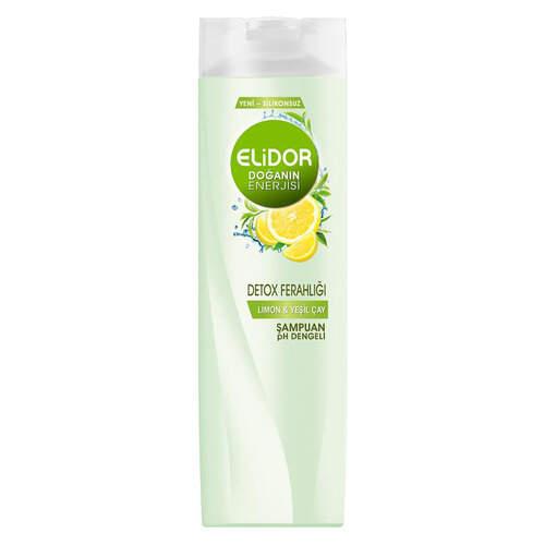 Elidor Şampuan Detox Lemon 550 Ml.