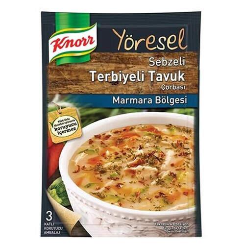 Knorr Çorba Yöresel Terbiyeli Tavuk