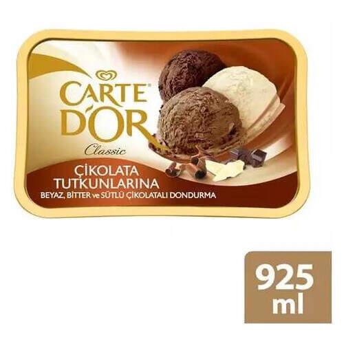 Carte D'or Classic Çikolata Tutkunu 925 Ml.