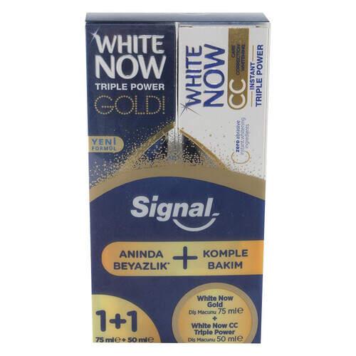 Signal Gold 75 Ml. + Cc Gold 50 Ml.