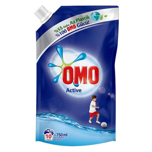 Omo Pouch Sıvı Active 750 Ml.