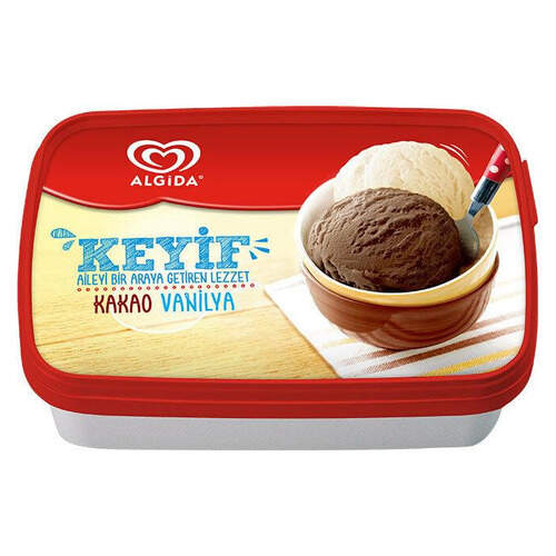 Algida Keyif Kakao-vanilya 750 Ml.