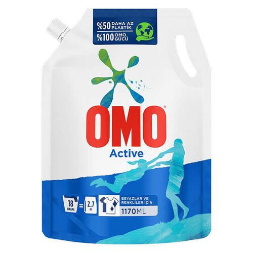 Omo Pouch Active Sıvı 1770 Ml.