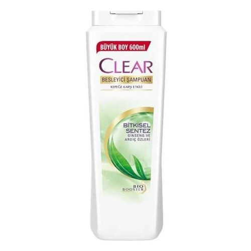 Clear Şampuan  Bitkisel Sentez 600 Ml