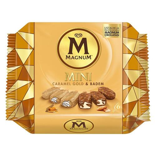 Magnum Mını Badem Karamel Gold 345 Ml
