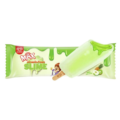 Algida Max Slime Apple 55 Ml