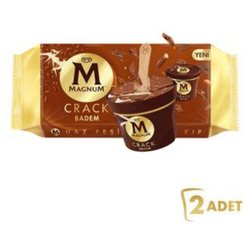 Magnum Cup Badem 2li 166 Ml