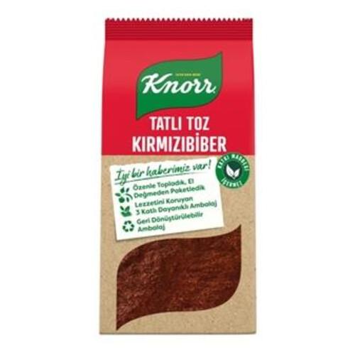Knorr Tatlı Toz Kırmızı Biber 65 Gr