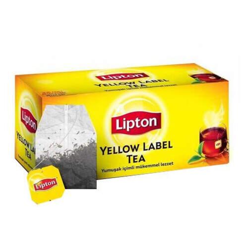 Lipton Yellow Label Bardak Poşet Çay 50 Gr.