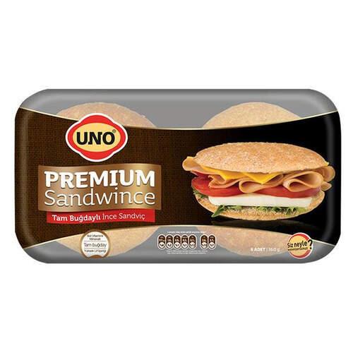 Uno Sandvıc Tam Bugdaylı 350 Gr