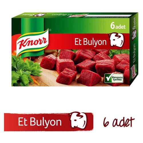 Knorr Bulyon Et Suyu 6'lı Tablet 60 Gr.
