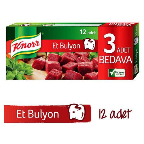 Knorr Bulyon Et Suyu 12'li Tablet 120 Gr.