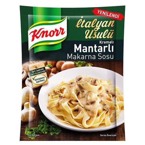 Knorr Kremalı Mantarlı Makarna Sosu 52 Gr.