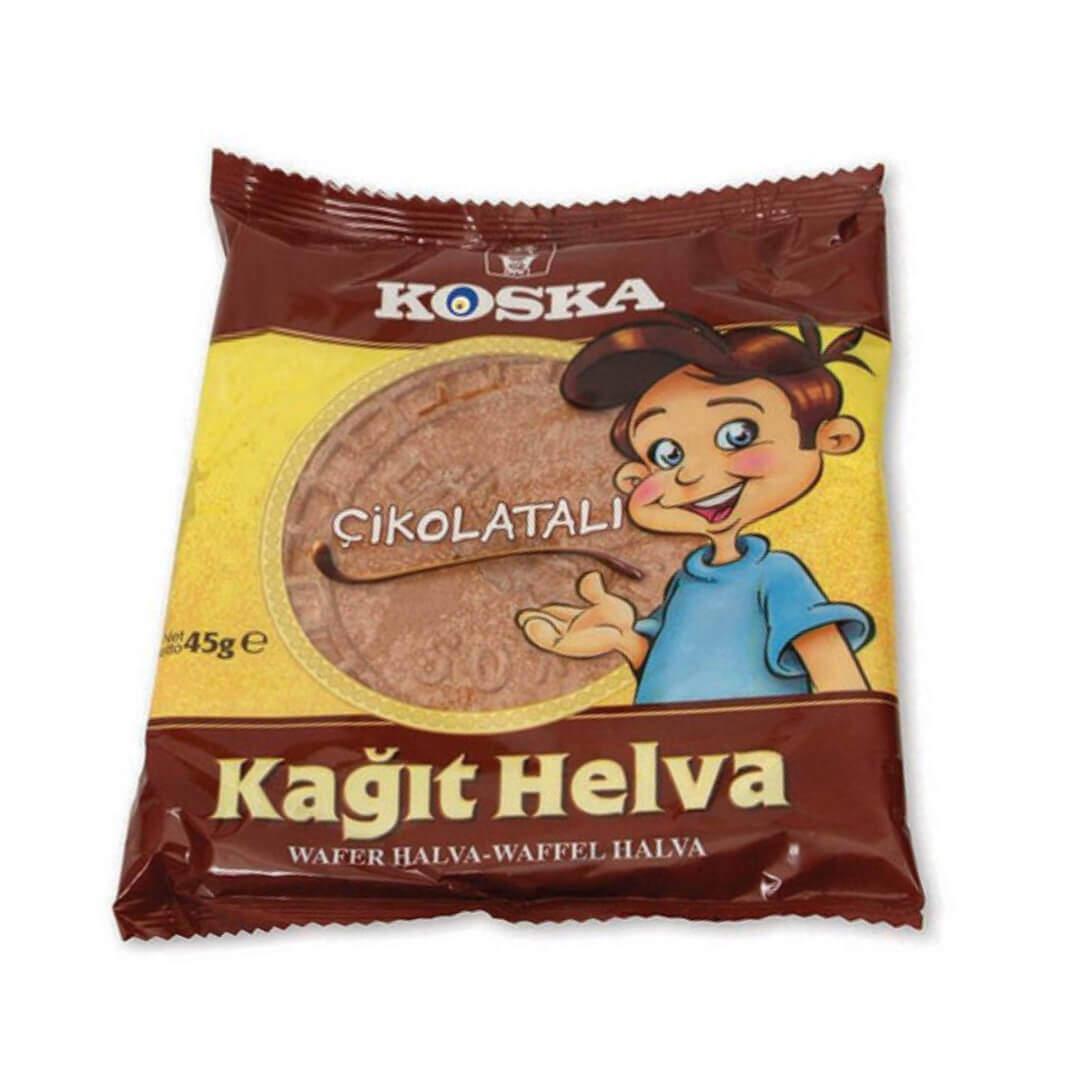 Koska Çikolatalı Kağıt Helva 45 Gr.