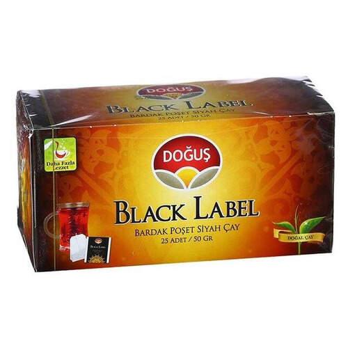 Doğuş Çay Black Label Bardak Poşet 50 Gr.